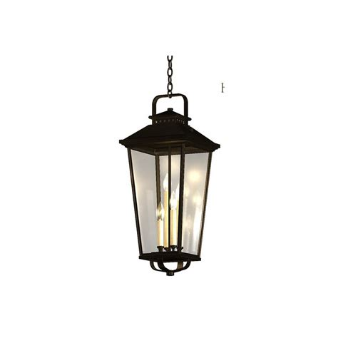 Allen Roth Pendant Lights Shop Allen Roth Parsons Field 27 In Black Outdoor Pendant Light At Lowes