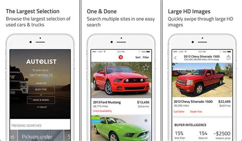 car buying apps  iphone   find  deals