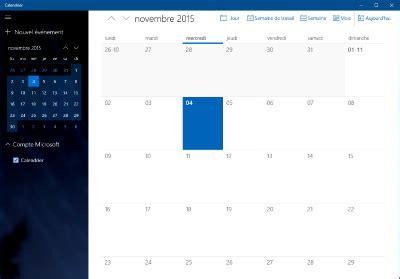 Calendrier Windows G 233 Rer Vos Rendez Vous Dans Le Calendrier De Windows 10