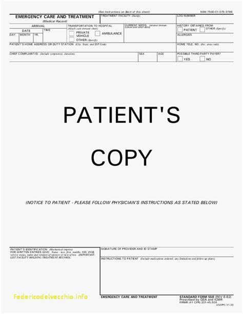 emergency room discharge template emergency room discharge template images template design