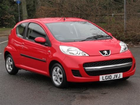 used peugeot 107 used peugeot 107 2010 petrol red with for sale autopazar