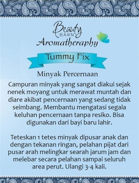 barn aromatherapy tummy fix
