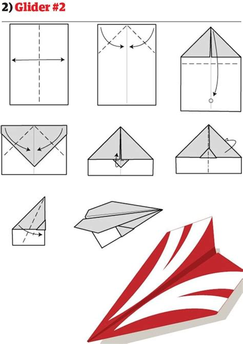 How To Make A Cool Paper Airplane Step By Step - best 25 best paper airplane design ideas on