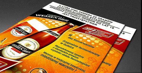 Plakat Reklamowy by Weizen Bier Plakat Reklamowy Pos Ibero Agencja