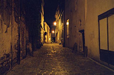 le vieux le vieux mans ruelle de nuit