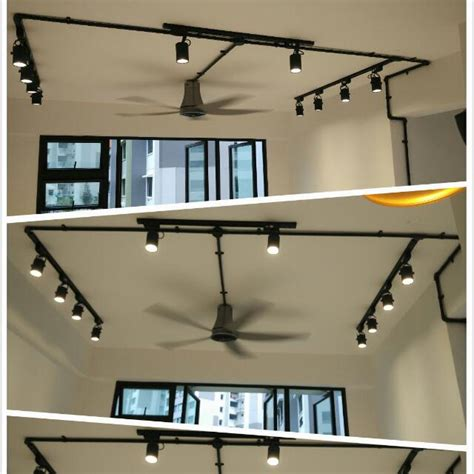 determining track lighting for living room furniture hdb bto living room track light and fan package no