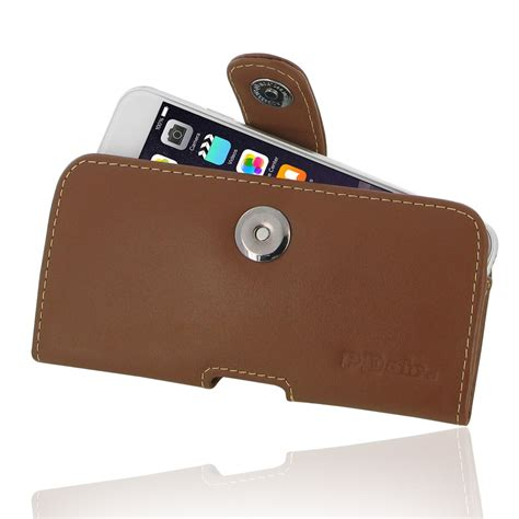 Iphone 6 6s Premium Leather Wallet Casing Cover Bumper Armor Kuat iphone 6 6s leather holster brown pdair sleeve pouch
