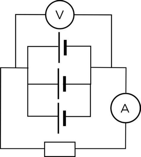 the drawing shows three resistors connected in parallel sciences grade 9