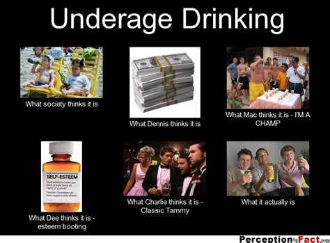 Underage Drinking Meme - underage drinking what people think i do what i
