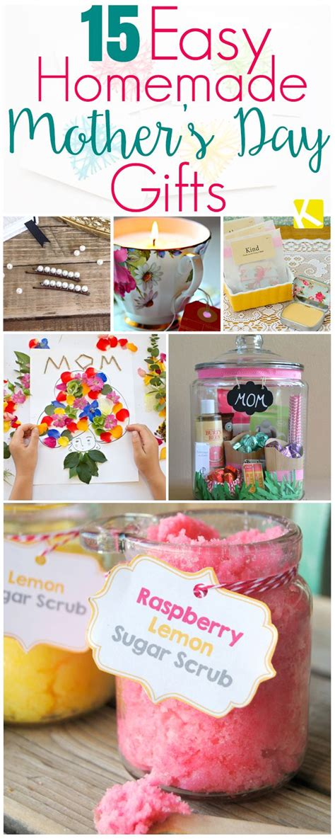simple gift for s day 15 mother s day gifts that are ridiculously easy to make