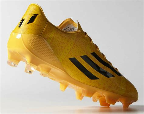 messi shoes 2015 gold adidas adizero messi 14 15 boot released footy