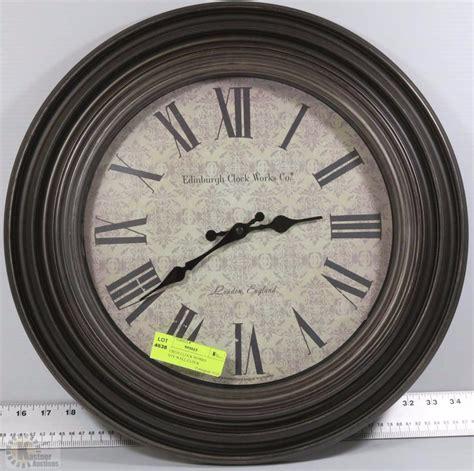 Auc Edinburgh Mba by Edinburgh Clock Works Company Wall Clock