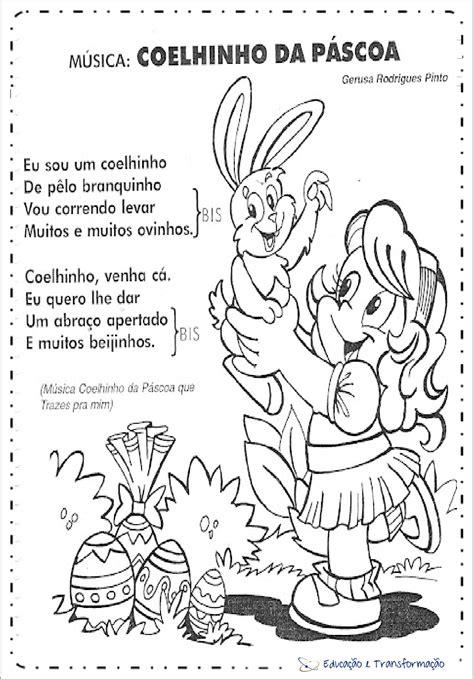 musica da m 250 sicas do coelho da p 225 scoa infantil para imprimir