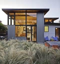 Beach House Design Stinson Beach House Great Combination Between Modern