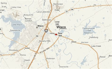 waco texas on the map waco location guide
