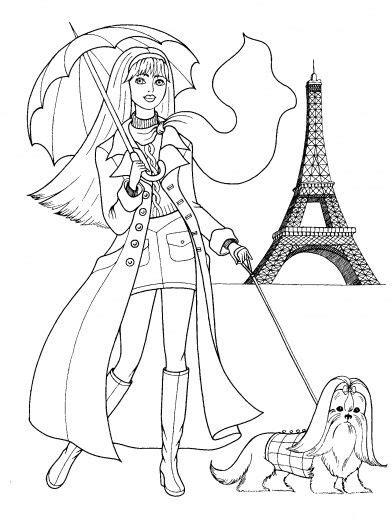 paris coloring woman  paris coloring page super