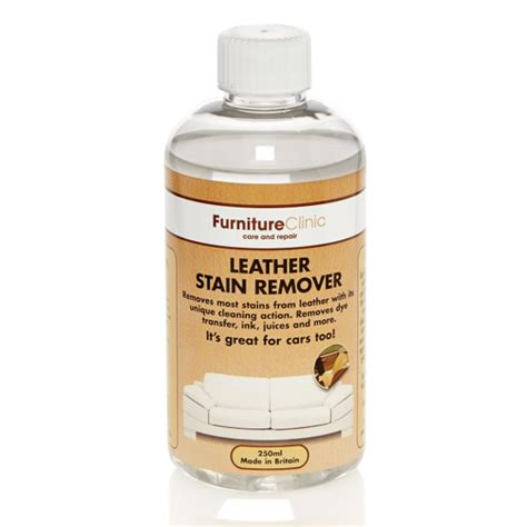 stain removal upholstery leather stain remover furniture clinic