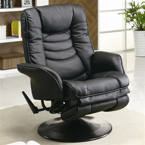 Leatherette Swivel Recliner Living Room Chairs Living Swivel Reclining Chairs For Living Room