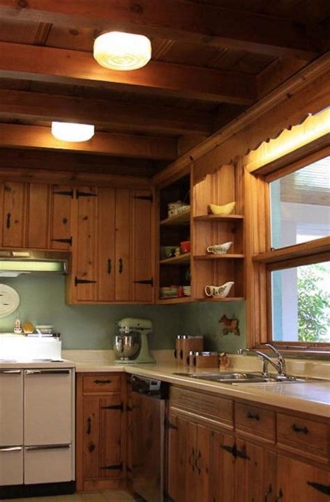 kitchen cabinets on knotty pine walls 25 best ideas about pine kitchen on pinterest pine