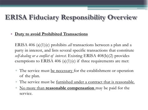 erisa section 404 c plan njscpa 2011 fiduciary responsibilities and risk
