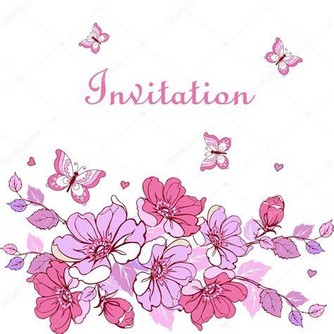 cornici per volantini postal vintage flores mariposas corazones puede ser