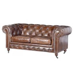 Leather Chesterfield Sofa Chesterfield Sofa Vintage Leather Traditional Upholstered Furniture 163 1 660 00