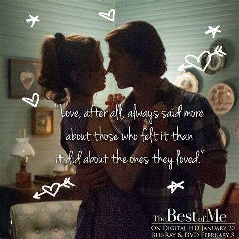 best of me movie 61 best images about love quotes on pinterest nicholas