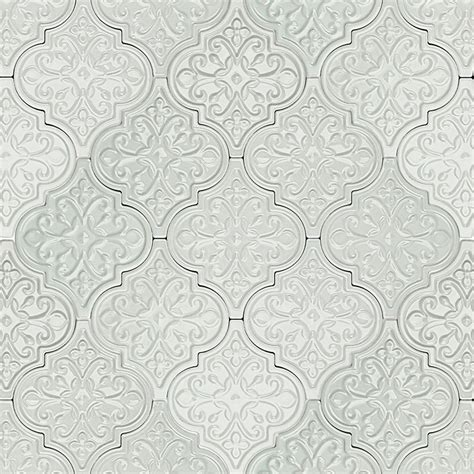 Tile Borders For Kitchen Backsplash by Byzantine Florid Arabesque Alice Ceramic Tile