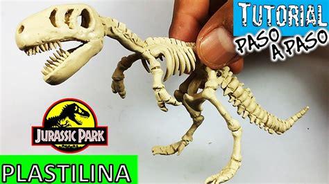 imagenes de calaveras de juguete como hacer esqueleto de dinosaurio t rex de plastilina