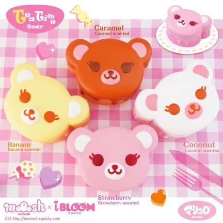 Squishy Donat Gerigi Coklat preorder scented brown caramel tea time animal squishy by ibloom squishy shop