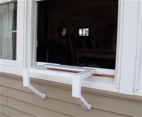 ez ac air conditioner support bracket australia how to support a window air conditioner hvac how to