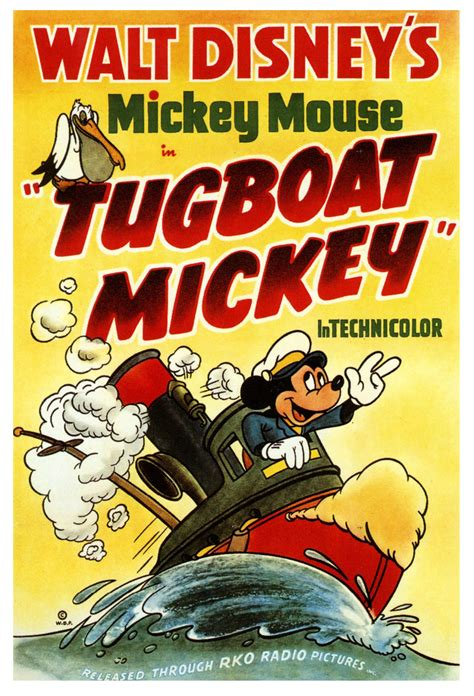 tugboat cartoon movie tugboat mickey 1940 give a little whistle pinterest