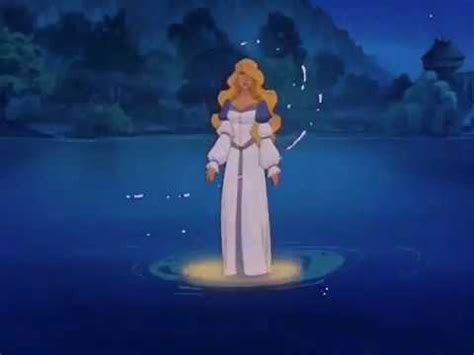 Princess Swan dub w me the swan princess derek and odette are