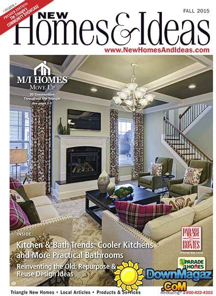 new homes and ideas magazine new homes ideas usa fall 2015 187 download pdf magazines