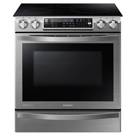 cu ft   induction chef collection range  flex duo oven ranges nehwsaa