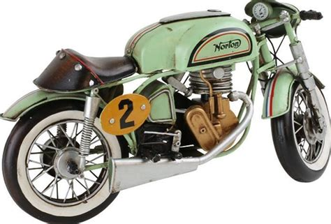 vintage decoratie vintage decoratie norton motorfiets donk toyshop