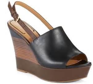 Sandal Wanita Wedges Original Black nine west jayce wedges where to buy how to wear