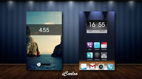 gallery themes for android my first android theme by icarloo on deviantart