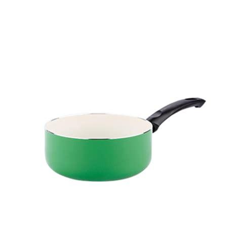 Panci Keramik Fincook jual panci saucepan fincook csp1603 green 16cm murah