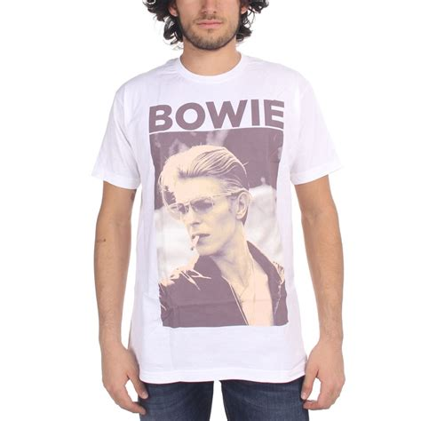 Sweater David Bowie 2 Zalfa Clothing david bowie mens t shirt in white