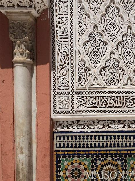 moroccan stucco x moroccan architectural moroccan art and architecture in marrakech maison 28