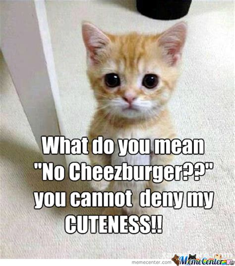 Cheezburger Meme - no cheezburger by theboldviking meme center