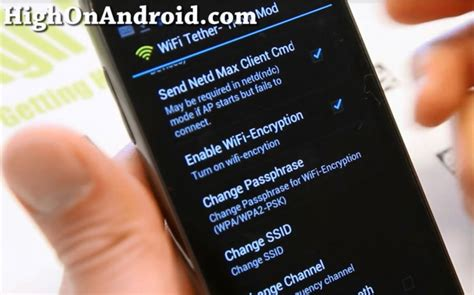 wifi tether treve mod apk how to wifi tether any rooted android smartphone or tablet autos post