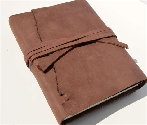Handmade Leather Diary - buy a crafted leather bound handmade photography