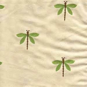 dragonfly suede kiwi embroidered upholstery fabric 21476