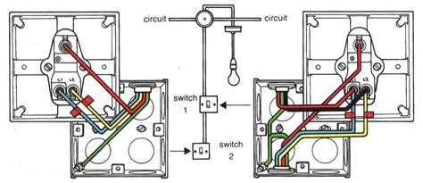 how to wire a 2 way switch diagram two light switch wiring diagram electrical