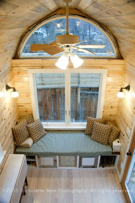 tiny house seating tiny craftsman house for sale in nevada