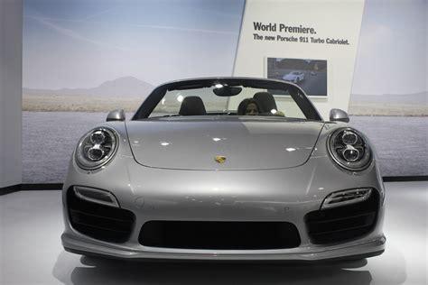 porsche 911 front 2014 porsche 911 turbo cabriolet turbo s cabriolet la live