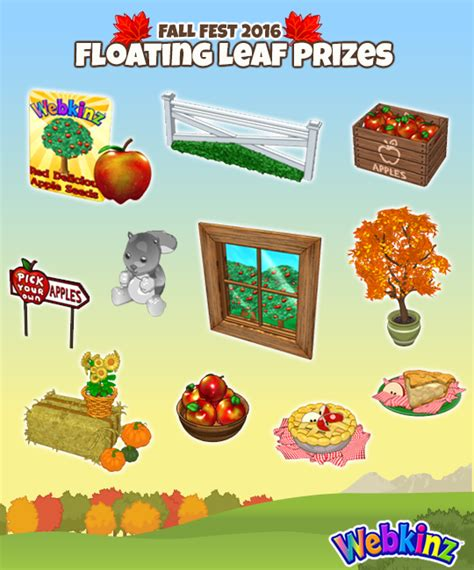 Current Events Sweepstakes - fall fest floating and tracking 2016