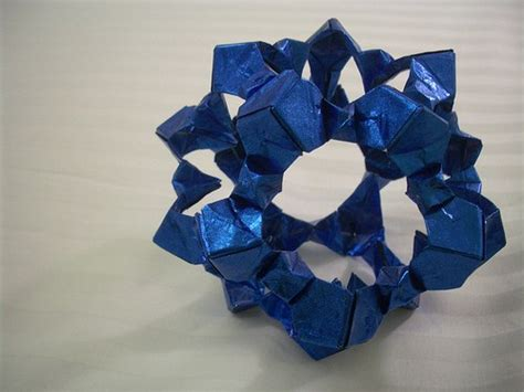 gum foil paper and polyhedra